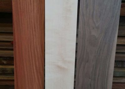 Loas Rosewood, Rock Maple and Black Walnut